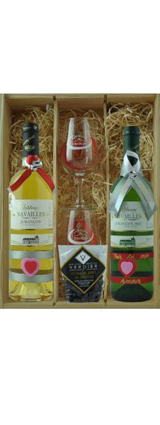 Coffret Spécial St Valentin n°2 (2 bouteilles)