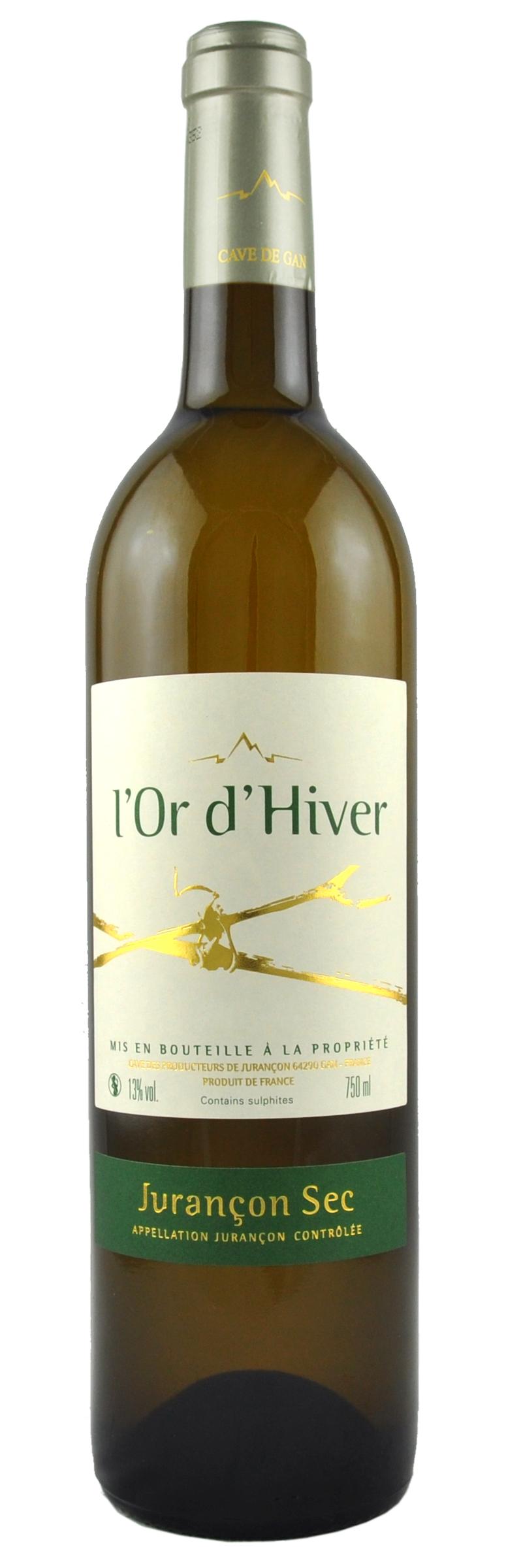 L'Or d'Hiver 2018 sec (75cl)