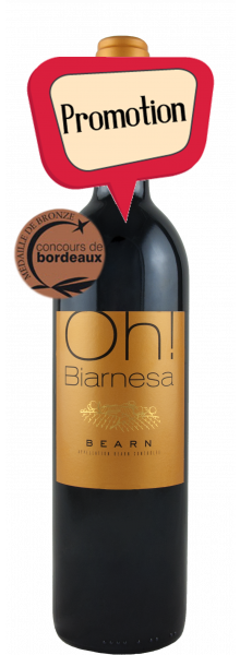 Oh ! Biarnesa rouge 2013 (75cl)
