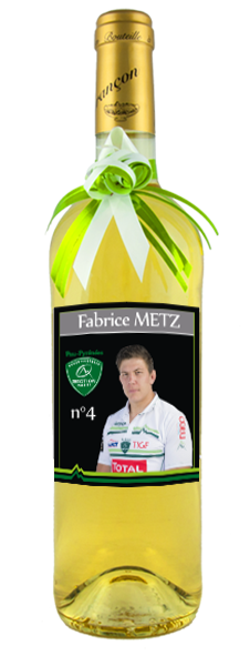 Cuvée Section Paloise - Fabrice METZ (75cl)