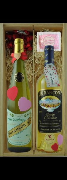 Coffret Spécial St Valentin n°1 (2 bouteilles)
