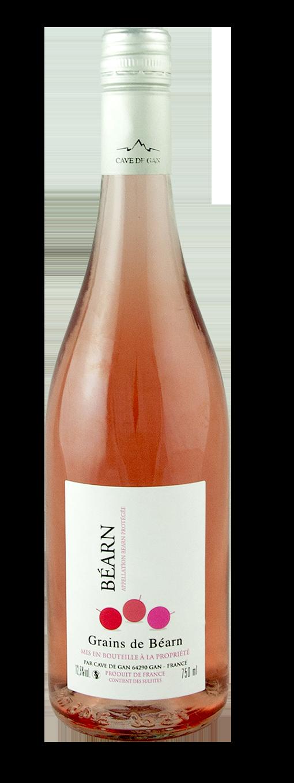 Grains de Béarn rosé 2018 (75cl)