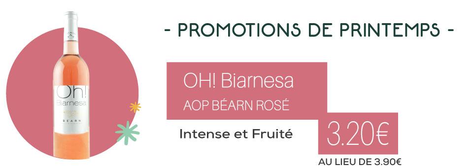 Béarn rosé - oh! biarnesa