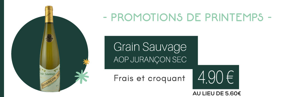 Jurançon sec - Grain Sauvage